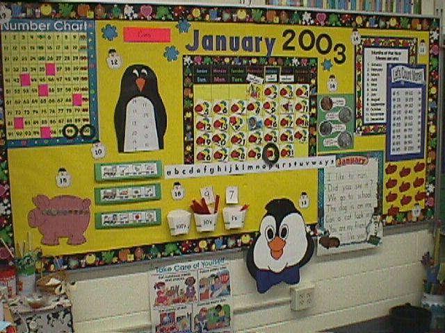 Kindergarten Interactive Calendar