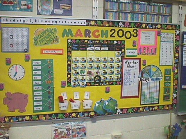 Number Names Worksheets number chart for kindergarten : Kindergarten Interactive Calendar